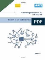 CCN-STIC-568 Windows Server Update Services (WSUS)