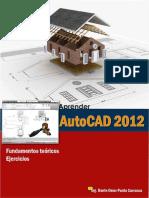 Aprede AutoCAD 2D fundamentos toericos y ejercicios.pdf