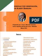 Aprendizaje Por Observacion Segun Albert Bandura1