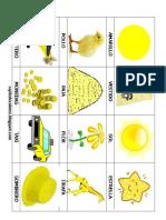 10 Figuras de Color Amarrillo