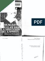 Descartes -Reglas Para La Direccion Del Espiritu  (Spanish Edition) (2005).pdf
