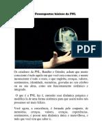 Os 10 Pressupostos Básicos Da PNL