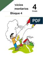 4to Grado - Bloque 4 - Ejercicios Complementarios