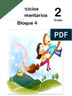 2do Grado - Bloque 4 - Ejercicios Complementarios