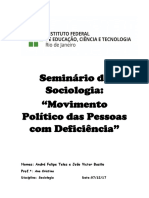 Parte Escrita Seminario de Sociologia