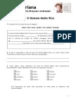 A Fada Oriana - III - o Homem Muito Rico