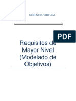 Requisitos de Mayor Nivel