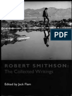 Robert Smithson Robert Smithson the Collected Writings