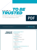 Color of Change News Accuracy Report Card NYC