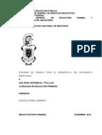 Esquema de trabajo para documento recpecional sobre la Identidad