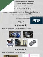 PPT - Modelo e Análise de Um MCI a Ciclo Miller