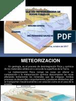 Meteorización de Rocas y Suelos