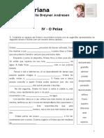 A Fada Oriana - IV - o Peixe