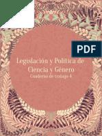 AA.vv., Legislación y Política de Ciencia y Género