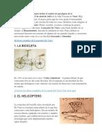 Inventos Leonardo Davinci