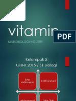 Presentasi Vitamin
