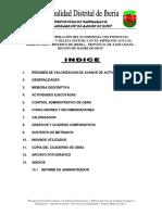 Informe de Obra Diciembre 2017