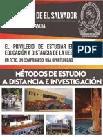 Métodos de Estudio a Distancia e Investigación Uesed Mined