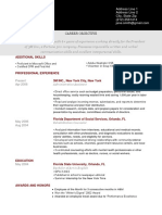 Pantheon Brick Red Resume Template2423432