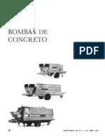 Bombas de Concreto