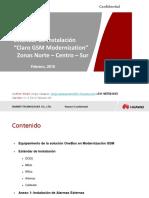 Estandar de Instalacion Claro GSM Modernization Provincia V1.3_20160319_...