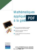 Maths Appliquee a La Gestion