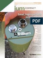 Nanometrics Trillium Compact Brochure