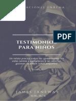 James Janeway Testimonios Para Niños