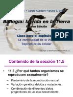 Audesirk capítulo 11 Parte V Meiosis y VI Aplicaciones.pdf