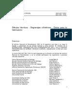 NCh 1627 - Engranajes Cilíndricos - Datos Para La Fabricación