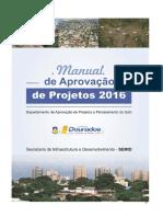 Manual de Aprovação de Projeto 2016