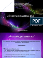 Cirugia Pediatrica Obstruccion Intestinal Alta (1)