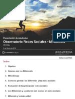 Las Redes Sociales y Los Millenials