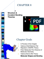CHAPTER 08 Molecular Structure and Covalent Bonding Theories