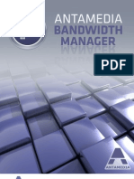 Antamedia Bandwidth Manager Manual