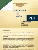 Diapositiva Medidores de Nivel