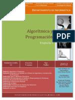 IUTVAL - Formato Guía Algorítmica y Programación