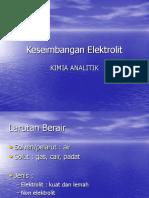 [KA] Keseimbangan Elektrolit