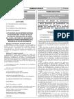 Prorroga Del Estado de Emergencia D.S 120 2017 PCM