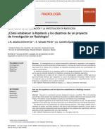 ¿Cómo establecer la hipótesis y los objetivos de un proyecto.pdf