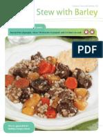 Caribou Stew Recipe