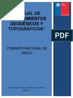 Manual de Procedimientos Geodésicos y Topográficos de La CNR Al 06-08-15