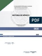 Historia_Mexico_I_biblio2014 22 de Enero