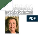 Biografía María Luisa Silva