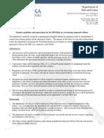 2018 Sitka Herring Cooperative Fishery Guidelines