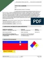 Hoja de Seguridad Del Solkaflam 123 - Diclorotrifluoroetano
