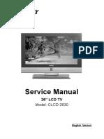 Service Manual Clcd-2630 Sankey