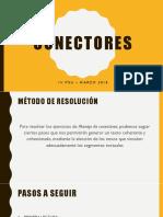 Ejercicios Conectores - Marzo 2018