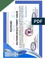 certificado villareal