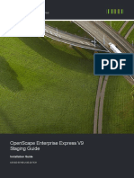 OpenScape Enterprise Express V9, Staging Guide, Installation Guide, Issue 20.